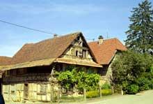 Willer: vielle ferme sundgauvienne du XVIIè à Willer. (La maison alsacienne)