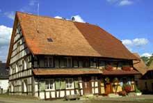 Wolfersdorf, joli village du Sundgau. (La maison alsacienne)
