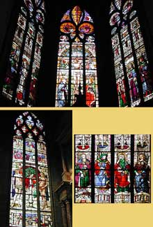 Arnaut de Moles: vitraux de la cathédrale d'Auch, 1500 – 1513
