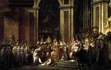 Jacques Louis David (1748-1825): Le sacre de l'empereur Napoléon. 1805-1807. Huile sur toile, 629 x 979 cm. Paris, Musée du Louvre