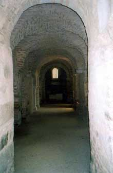Abbaye saint Pierre de Flavigny: la crypte