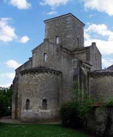 Germigny des Prés: l'oratoire de Théodulfe, évêque d'Orléans. Vers 806