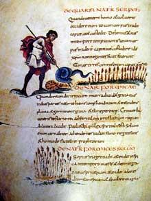 Physiologus de Berne provenant du Scriptorium de Reims, Vers 830, Berne Burgerbibliothek Cod. 318