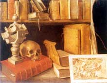 Stoskopff Sébastien: Vanité. Huile sur toile, 66,5 x 85,5cm. Paris, Musée du Louvre. (Histoire de l'art)