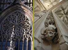 Abbeville: collégiale saint Wulfram. 1488ss. (Histoire de l'art - Quattrocento