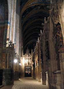Albi, cathédrale sainte Cécile. La nef