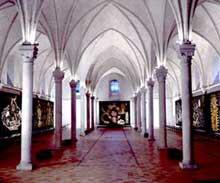 Angers: l'ancien hôpital saint Jean, aujourd'hui musée Jean Lurçat