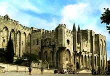 Avignon: le palais des Papes