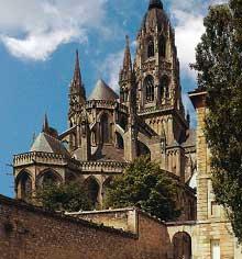 Bayeux: la cathédrale saine Marie