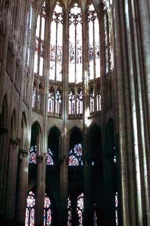 Beauvais: cathédrale saint Pierre: le chœur