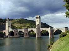 Cahors: le pont Valentré, 1308-1378