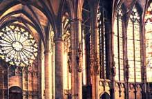Carcassonne: la cathédrale saint Nazaire. La croisée