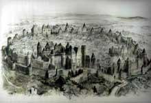 Carcassonne: la cité d'après Albert Robida (1846-1926)