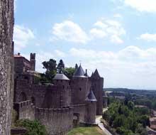 Carcassonne: la cité