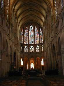Chartres: cathédrale Notre Dame, le choeur