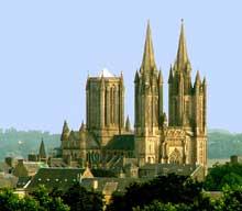 Cathédrale Notre Dame de Coutances. Vue générale