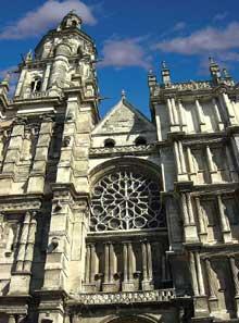 Cathédrale d'Evreux: La façade