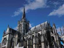 Cathédrale d'Evreux: le chevet