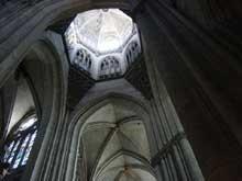 Cathédrale d'Evreux: la croisée