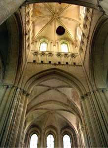 Fécamp: l'abbaye de la Trinité: la croisée