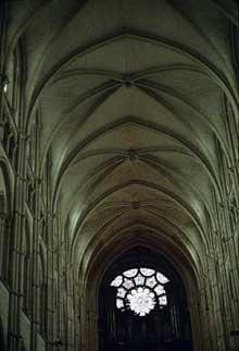 Laon: la cathédrale Notre Dame: La nef centrale