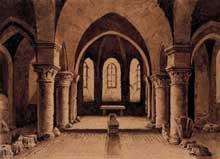 Laon: chapelle gothique de l'ancien évêché, aujourd'hui palais de justice. Carte postale de la fin du XIXè