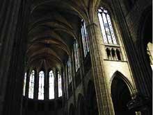 Cathédrale saint Etienne de Limoges: la croisée (1458-1499)