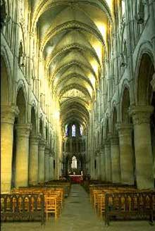 Cathédrale saint Pierre de Lisieux: la nef
