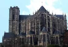 Le Mans: cathédrale saint Julien