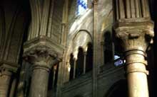 Collégiale Notre Dame de Mante la Jolie: vue sur le chœur