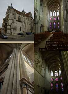 Moret sur Loing: église Notre Dame, XIIè