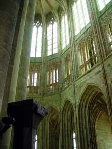 Le Mont Saint Michel: le chœur