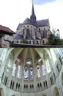 Orbais, l'église abbatiale