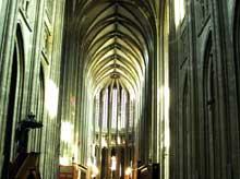 Orléans: nef de la cathédrale
