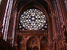 Paris: sainte chapelle: chapelle basse