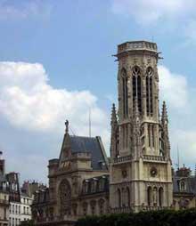 Paris: saint Germain l'Auxerrois: vue générale