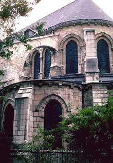 Paris, saint Germain des Prés: le chevet