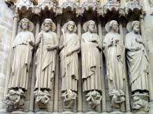 Paris, Notre Dame: portail du Jugement