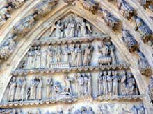 Reims: portail du transept nord