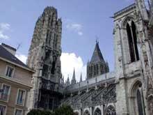 Rouen, la cathédrale