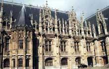 Rouen: le palais de Justice