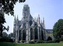 Rouen: saint Ouen. La nef