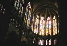 Saint Denis l'abbaye: le chœur de la basilique