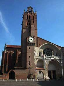 Toulouse, cathédrale saint Etienne