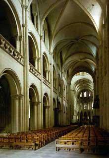 Toulouse, cathédrale saint Etienne. La nef