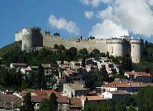 Villeneuve les Avignon: le château