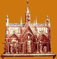 La châsse de Saint Taurin d'Evreux (1240-1255). Cathédrale d'Evreux