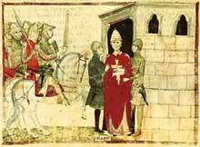 Philippe IV le Bel fait emprisonner le Pape Boniface VIII à Anagni (1294 - 1304)