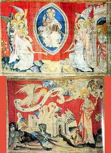 Tenture de l'Apocalypse, Château d'Angers. Détails
