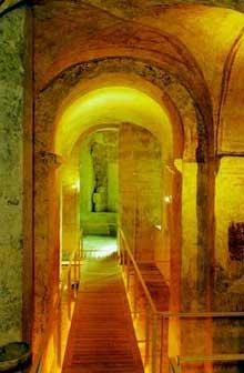 Auxerre, saint Germain: la crypte